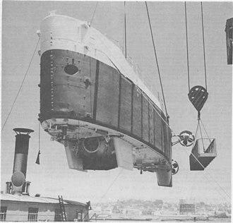 Bathyscaphe Trieste II - Trieste II