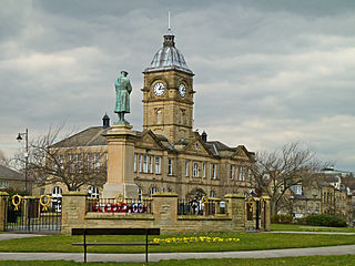 Batley Town in West Yorkshire, England