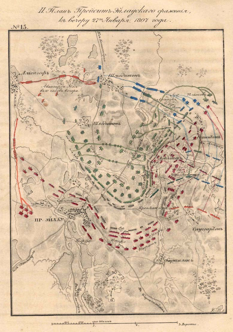 Battle of Preussisch Eylau Map3