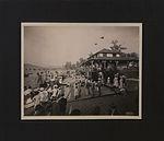Beach in front of the aquatic building, regatta day, 1910, Kelowna, British Columbia (HS85-10-23408).jpg