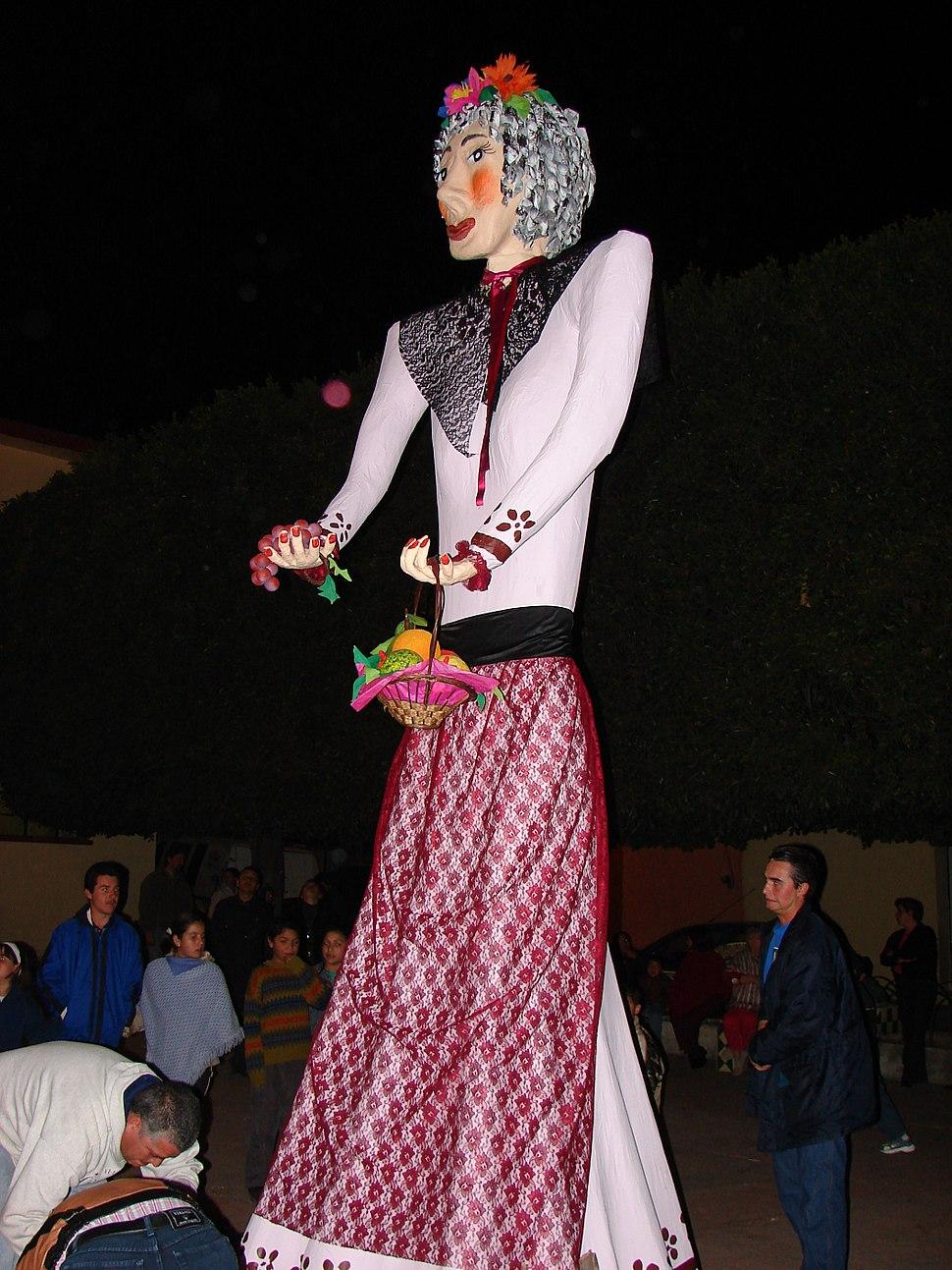 Befana, an ornately-dressed woman