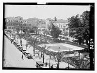 Beirut. El Burj. (Principal city square also called the 'Place de Cannon') LOC matpc.12327.jpg