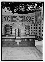 Beit Ed-Din. The Shehab Palace (held as a national monument). Fountain in a summer parlour (i.e., parlor) LOC matpc.07599.jpg