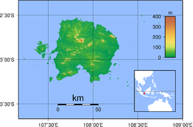 Belitung Topography.png