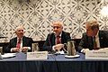 Ben Cardin, George Tsereteli and Tom Davis, Washington, 4 Nov. 2018 (45729554441).jpg