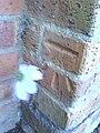 Benchmark on ^82 Northcourt Road - geograph.org.uk - 2120879.jpg