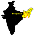 Bengali Verbreitung.png