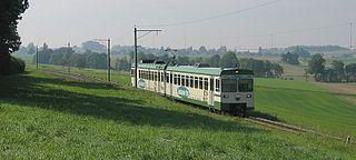 LEB-Zug bei Bercher