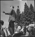 Berkeley, California. University of California Lawn Forum. Questions from the audience during the University of... - NARA - 532096.tif