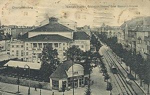 Schiller Theater - Schiller Theater, about 1919