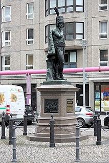 Statue of Hans Joachim von Zieten