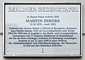 Berliner Gedenktafel Kuglerstr 44 (Prenz) Martin Dibobe.jpg