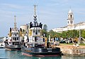 Bermuda - Hamilton Harbour - Royal Dockyards - Ocean going tugs awaiting the next rescue - panoramio.jpg