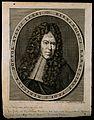 Bernardino Ramazzini. Line engraving by J. G. Seiller, 1716. Wellcome V0004889.jpg