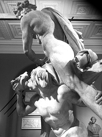 Neptune and Triton - Image: Bernini's Neptune and Triton, 1622 3 (2)