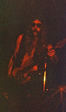 Description de l'image Berry Oakley. Allman Brothers Band. 1972.jpg.