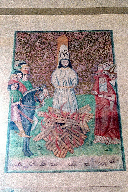 Bethlehem-Kapelle - Hinrichtung Hus