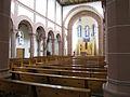 Bexbach Katholische Pfarrkirche St. Martin Innen 02.JPG