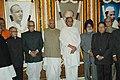 Bhairon Singh Shekhawat at the unveiling ceremony of the portraits of late Shri Biju Patnaik, late Acharya Kriplani, late Dr. P.R. Deshmukh and late Shri Damodar Sanjeevayya at Parliament House, in New Delhi.jpg