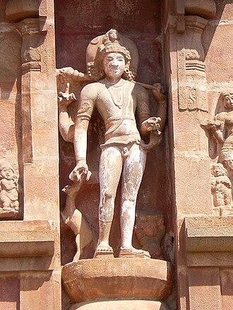 Maheshwara murtams - Image: Bhikshatana tanjore