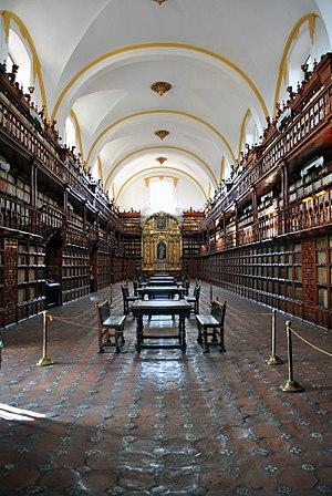 Biblioteca Palafoxiana - Image: Biblioteca Palafoxiana de Puebla