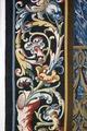 Bibliska historien. Bebådelsen. Efter konservering. Vänster bord nertill - Skoklosters slott - 87038.tif