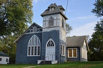 Big Island, Virginia - Methodist church (former)
