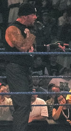 Vengeance (2003) - The Undertaker, who faced John Cena at Vengeance.