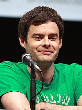 Hader at the 2013 San Diego Comic-Con