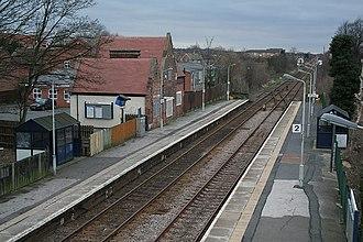 Bingham railway station - Image: Bingham Railway Station