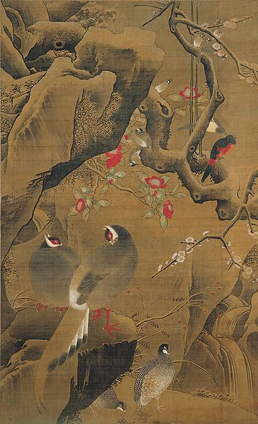 Fájl:Birds and Flowers of Early Spring' by Yin Hong, c. 1500.jpg