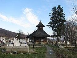 Biserica de lemn Nasterea Domnului din satul Glambocata Deal comuna Leordeni judetul Arges Romania 1.jpg