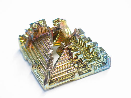 Bismuth crystal macro