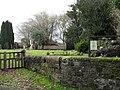 Blackbird singing away opposite St James, Stedham - geograph.org.uk - 1738785.jpg