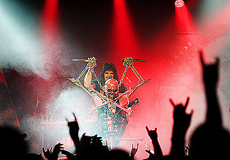W.A.S.P. (band) - Blackie Lawless and W.A.S.P. performing in Stavanger, Norway