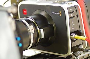 Digital movie camera - Blackmagic Cinema Camera