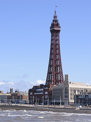 Blackpool Tower - Image: Blackpool Tower 05082017 (cropped)