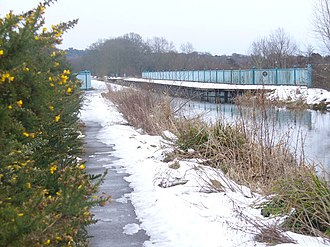 Ash Vale - Image: Blackwater Valley Aqueduct geograph.org.uk 1153821