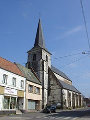 The church of Blangy-sur-Ternoise