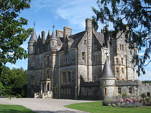 Anglo-Irish big house - Blarney House, a typical Anglo-Irish big house and home to the Colthurst baronets.