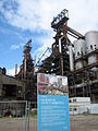 Blast furnaces A and B in Belval, Luxembourg, 2007-06.JPG