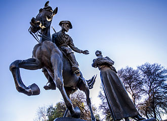 National Women's Monument - Image: Bloemfontein Women's Memorial Vil 005