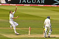 Board bowling against Sri Lanka at Lord's, 2011.jpg