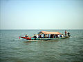 Boat ride on Chilika Lake, Balugaon, Odisha, India.jpg