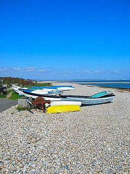 Boats, East Beach, Selsey - geograph.org.uk - 765814