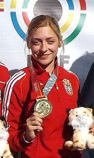 Bobana Veličković Serbian sport shooter