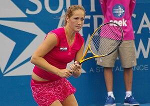 Bojana Jovanovski - Jovanovski won her first WTA title at 2012 Baku Cup