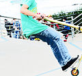 Bondi, 27 - Skateboarder - Bondi Beach, 2011.jpg
