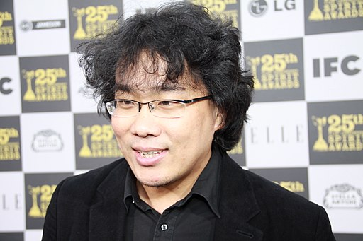Bong Joon-Ho at 2010 Independent Spirit Awards