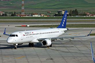 Borajet - Borajet Embraer 190